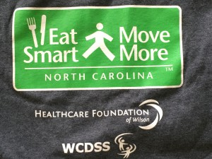 The Wilson Housing Authority Senior Exercise class is part of Eat Smart/Move More North Carolina. The program is locally funded by a grant from the Healthcare Foundation of Wilson.